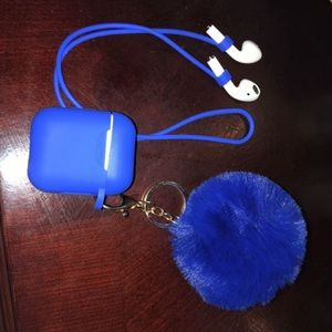 AirPod Case With Key Chain Many Colors